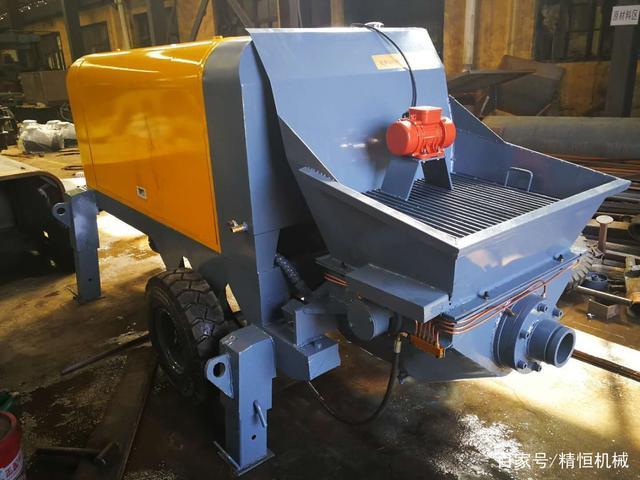 精恒细石砂浆输送泵 细石混凝土输送泵