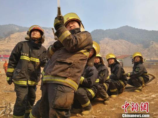 山西消防�c�让晒派�林消防�合阻�羟咴瓷交鹆Ρ4迩f安全