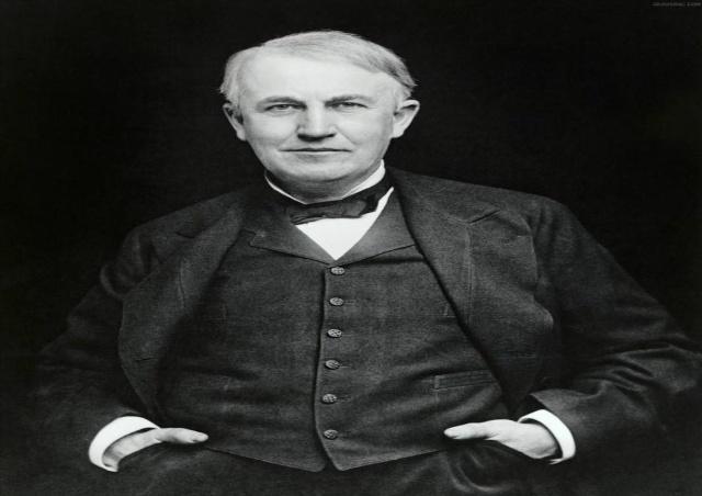 「科学家爱迪生小时候的照片」爱迪生的发明有哪些