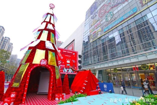 2018年成都SM广场圣诞装置介绍
