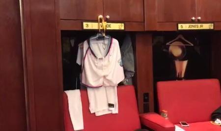 韦德重新得到自己曾使用过的更衣柜