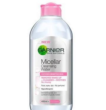 卡尼尔Garnier3合1卸妆洁肤爽肤水400ml粉瓶