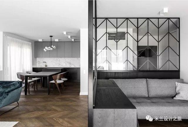 【现代】现代公寓这样的设计太牛了!-第5张图片-赵波设计师_云南昆明室内设计师_黑色四叶草博客