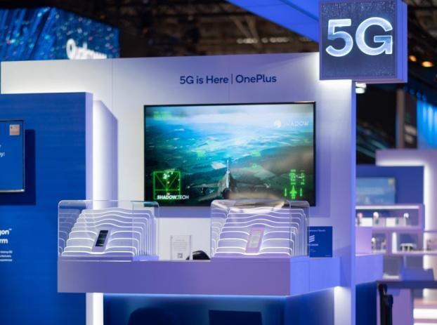 一加5G手机亮相MWC2019 现场模拟5G云游戏场景