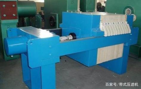 污泥压滤机的安装程序介绍
