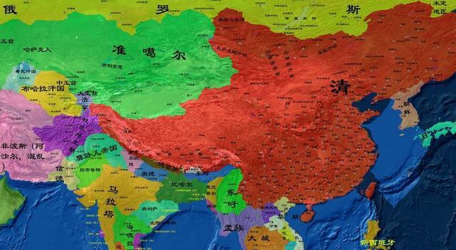 享国时间最长的大一统王朝,汉朝第一,哪个王朝