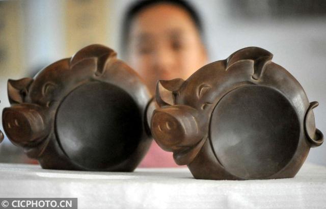 山西绛州:生肖猪砚迎新年 第3张