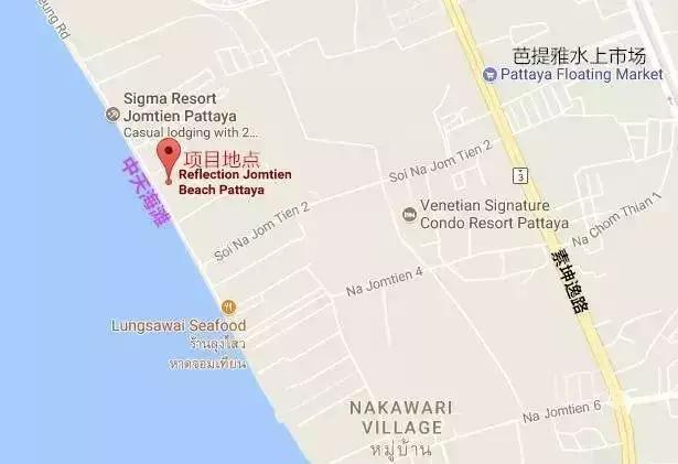 泰国芭提雅豪华海景公寓-Reflection印象公寓-1260万泰铢起