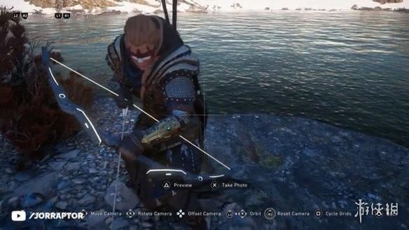 玩傢發現《AC:英靈殿》隱藏武器埋在石堆中的金弓