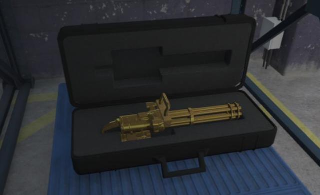 """《GTA5》線上都有哪些稀奇的""""物品""""呢?黃金加特林見過嗎?"""