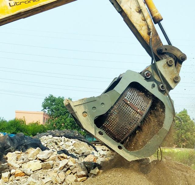 挖机滚筒筛成为鹅卵石筛分利用的金钥匙