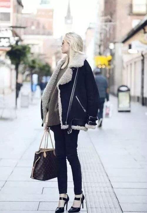 羊羔毛外套搭配,穿出不一樣的你……