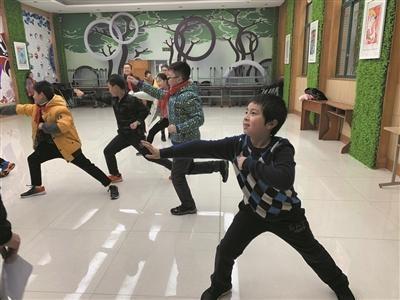 杭州长寿桥小学:把武术列入体育期末考