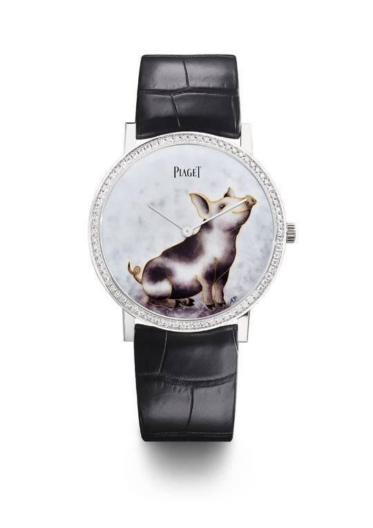 奢侈品腕表大牌纷纷发布2019猪年腕表