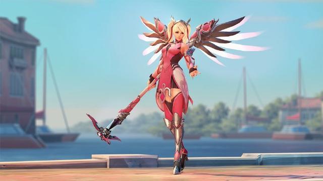 守望先锋天使玩家最讨厌的队友 说安吉拉是混子都出来!