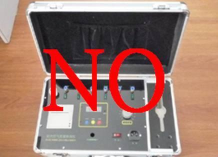 图为常见的多合一检测仪器,市面上80%的除甲醛公司采用此设备