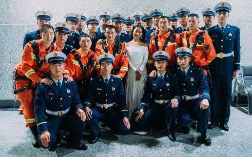 吉克隽逸献声《中国骄傲》致敬消防英雄