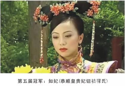 清朝历届宫斗冠军都是谁!清朝历届宫斗冠军的丈夫皇帝都是谁?