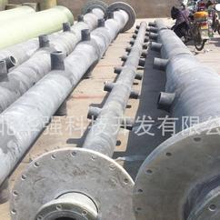 乙烯基树脂摻碳化硅喷淋管 耐磨 防腐年限更长 玻璃钢喷淋管道