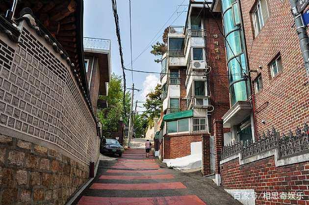 风景写实,韩国首尔北村韩屋村