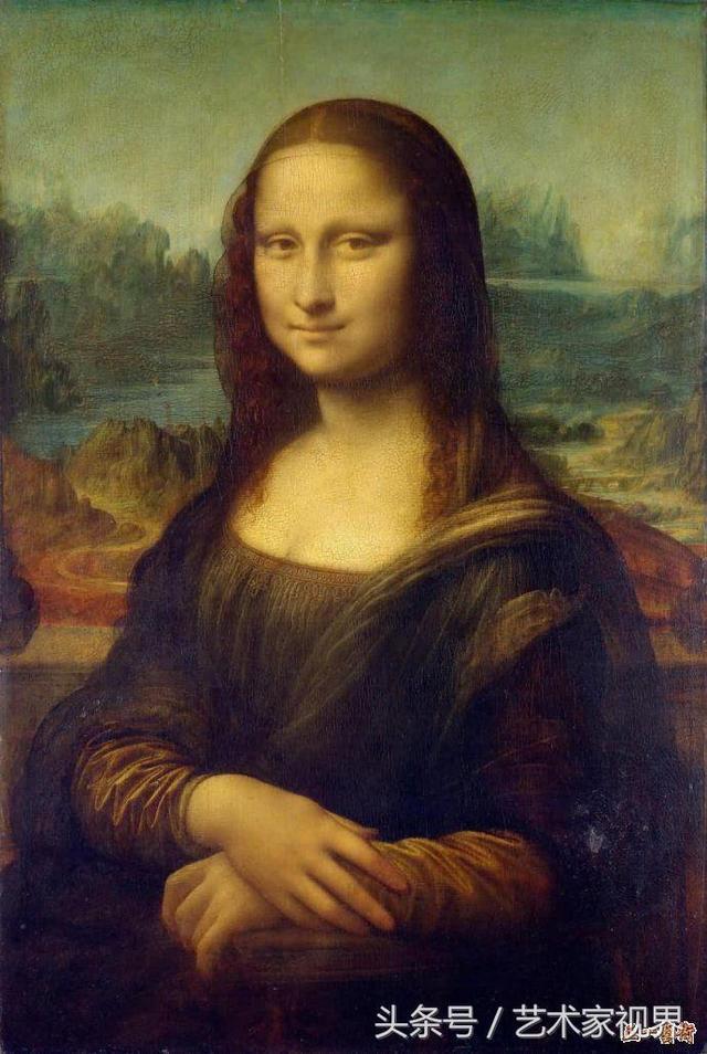 达・芬奇的画――世界名画欣赏