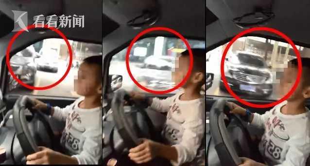 安福党建网:男童开车视频疯传 父亲:让他体验一
