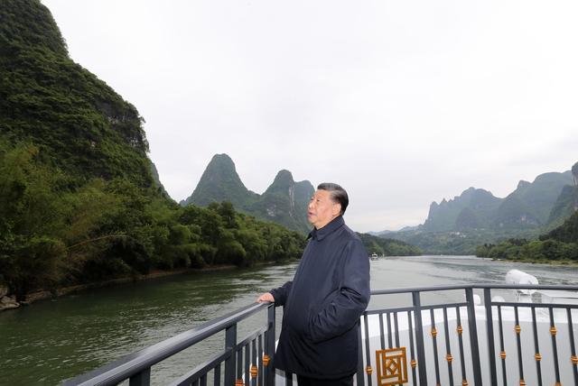 習近平:建設新時代中國特色社會主義壯美廣西