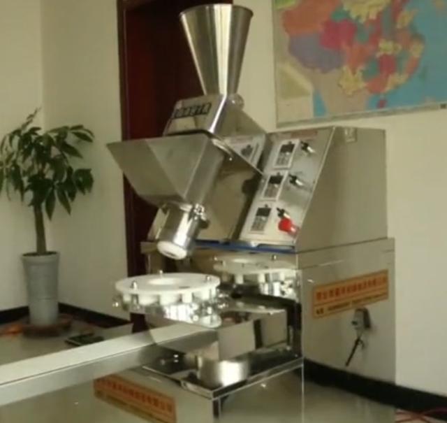 安徽大叔发明包子机,1小时可以做2400个包子