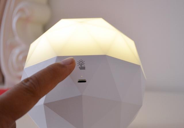 宝石精灵,一款可以语音控制的智能语音灯,你心动了吗?