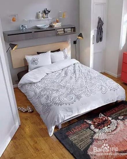 6种简约卧室空间摆设,特别适合小户型!