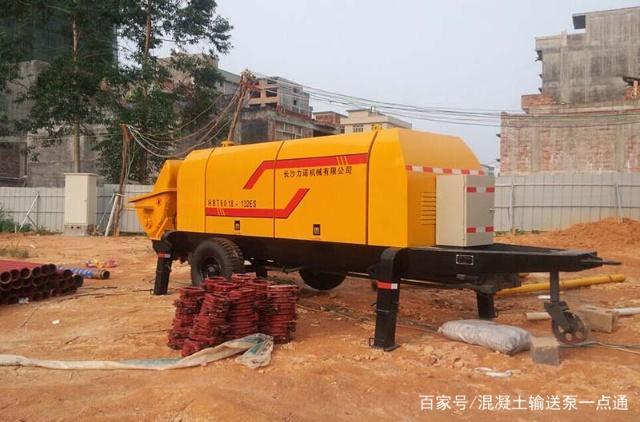 「疑问」小型混凝土输送泵到底打多高?打多远?