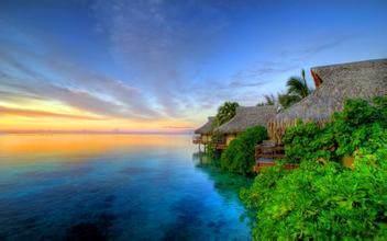 全球海岛排行榜, 美到极点! 最高的山,最美的海岛