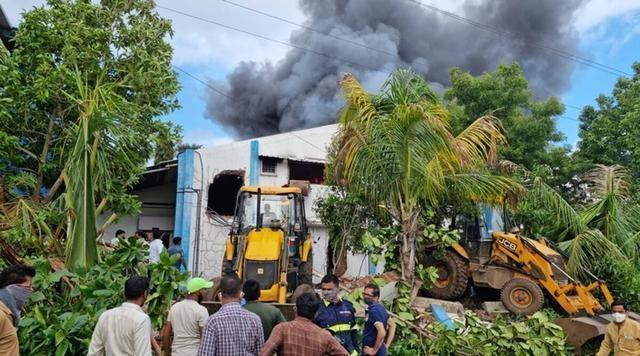 印度西部城市浦那一工廠發生火災,已致12人死亡5人失聯