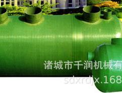 诸城市千润机械 专业生产销售1-200m³高强度玻璃钢缠绕式化粪池