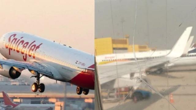 机窗裂粘后继续飞