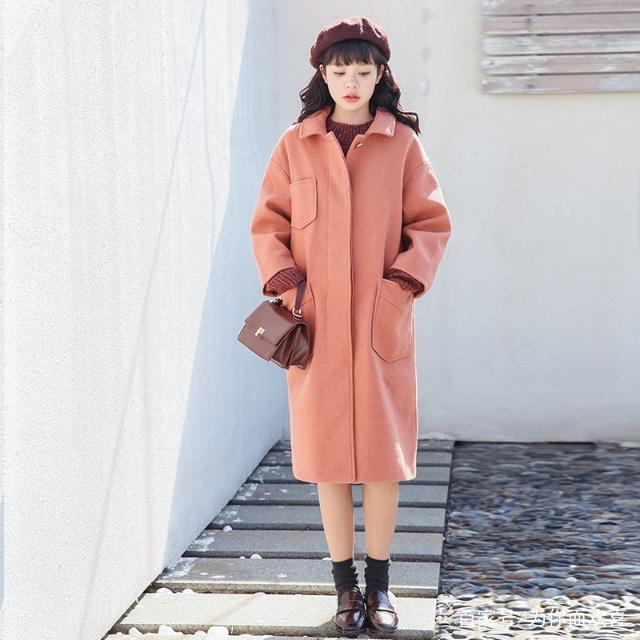 小清新外套,讓你在寒風中靜靜的美