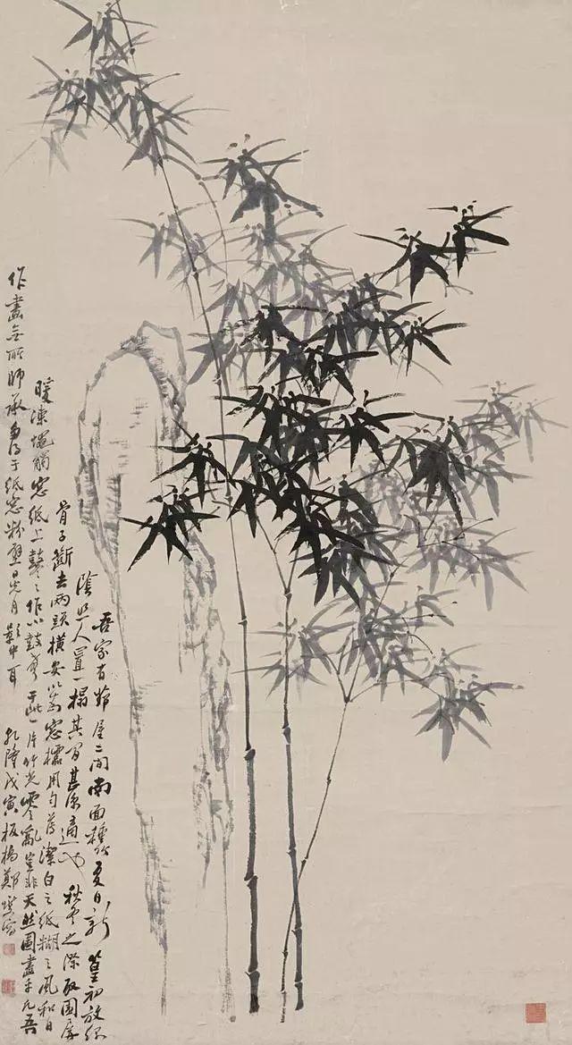 清 郑燮<a href=http://pinzihua.com target=_blank class=infotextkey>绘画</a>作品欣赏