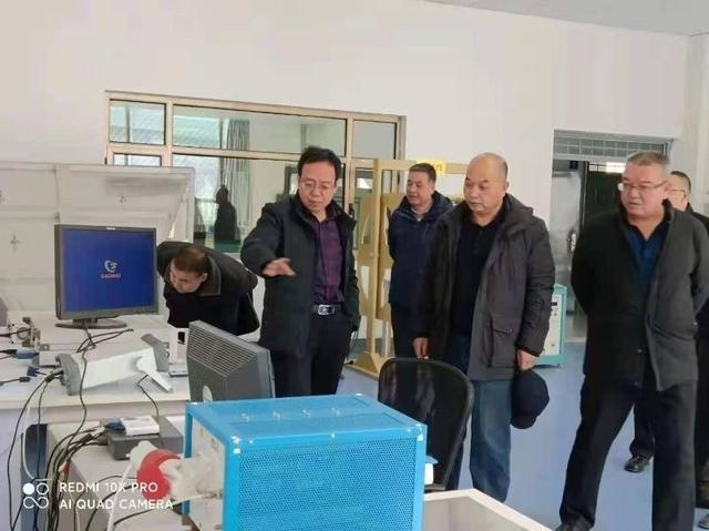 高翔宇局長調研指導天水生產力促進中心科技服務平臺工作