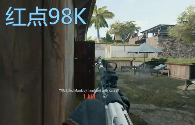 绝地求生:世界第一狙神,挑战双狙吃鸡,98K没开过第二枪!