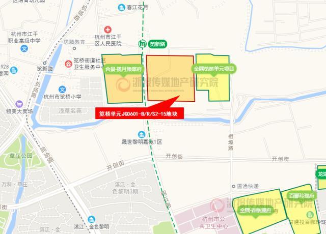 世茂廣場來瞭!杭州筧橋新城商業能級躍升 撬動大城東