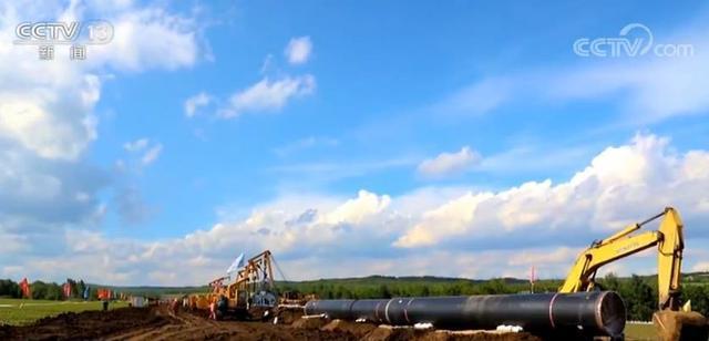 中俄东线天然气管道南段建设启动贯通后提高长三角地区天然气保供能力