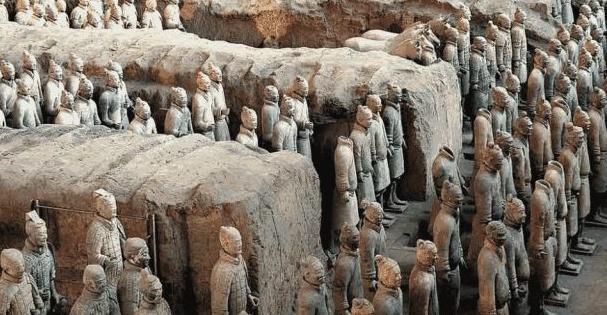 旅游:参观秦始皇陵兵马俑博物馆
