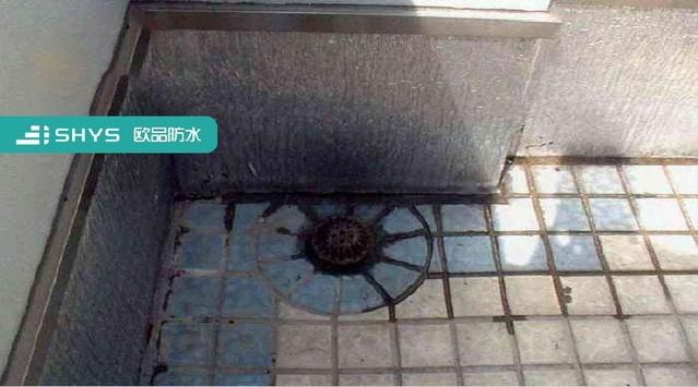水落口渗漏问题常常有,排水不畅屋面真遭殃