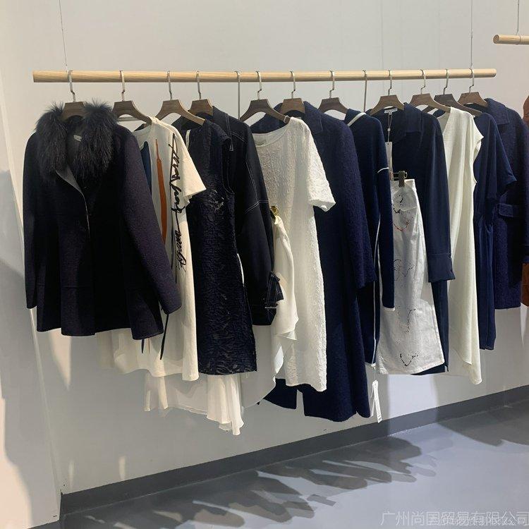 2021新款女装货源批发 时尚大气风衣外套 女装外套尾货批发直播货源