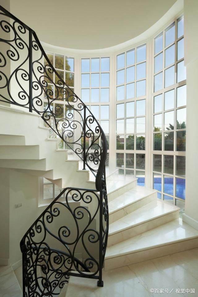 铁艺楼梯扶手的设计及介绍(图4)