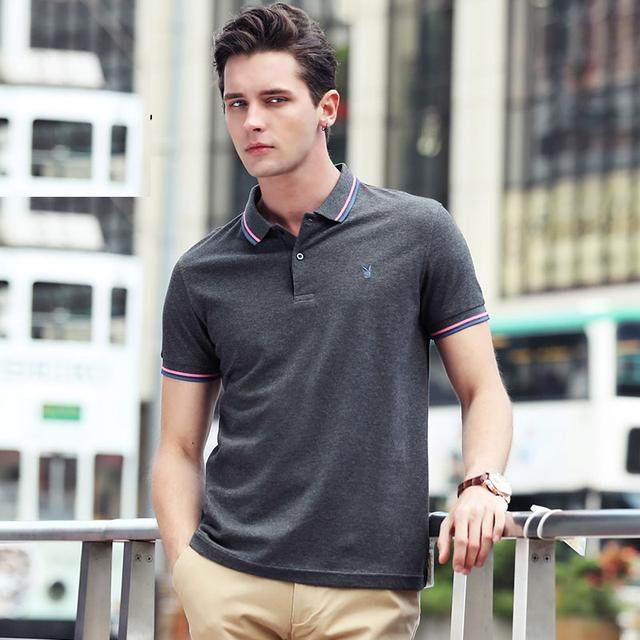 polo衫的簡約大氣,不落俗套,潮流人士必備