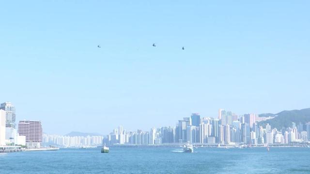 駐香港部隊組織聯合海空巡邏 檢驗部隊履行防務能力