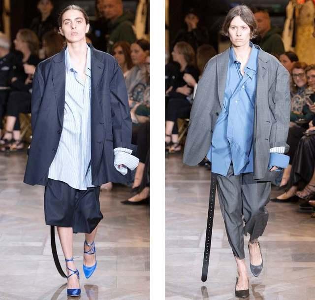 现在最流行的宽肩西装 你穿像奶奶?