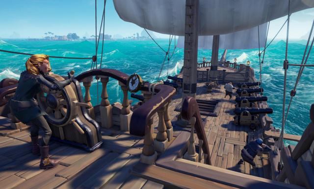 盜賊之海玩前熱血海戰,玩後釣魚挖寶?精彩海戰還看戰艦世界