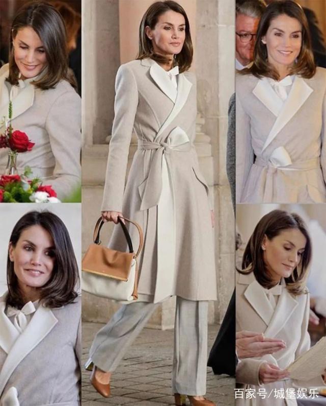 西班牙王後2019年的三套造型,全是舊衣但更驚艷,黑色外套很平價